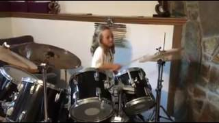 """Video """"I Hate Myself For Loving You"""" cover by Callie Coulter, 7 year old drummer download MP3, 3GP, MP4, WEBM, AVI, FLV April 2018"""