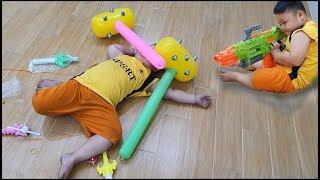 Trò Chơi Bé Pin Bất Ngờ ❤ ChiChi ToysReview TV ❤ Đồ Chơi Trẻ Em Baby Doli Fun Song Bài Hát Vần Thơ