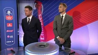 The FA Cup quarter-final draw! Wolves vs Man Utd, Swansea vs Man City