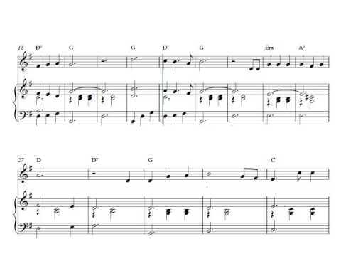 Free violin and piano sheet music | Home On The Range