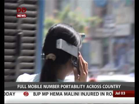 Full mobile number portability across country from today