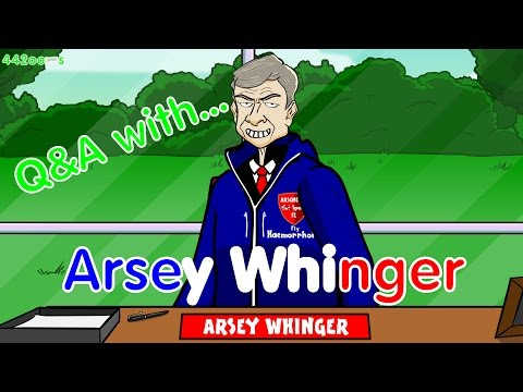 🇫🇷Arsene Wenger Q&A🇫🇷 Parody (442oons Football Cartoon)
