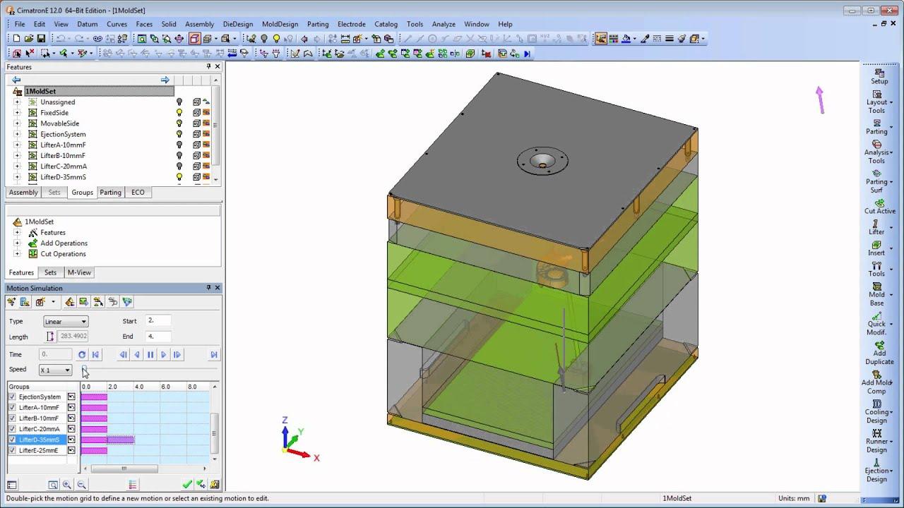 Cimatron E12 - Cimatron - Форум CAD/CAM/CAE/PLM