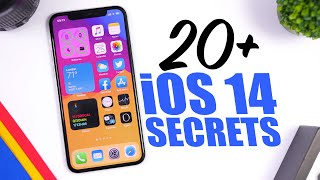 20+ iOS 14 HIDDEN Features - Apple SECRETS !