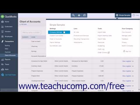 QuickBooks Online Plus 2015 Tutorial Assets and Liabilities Intuit Training