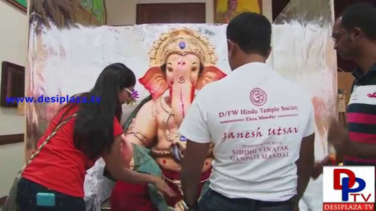 Arrival of DFW Temple Ganapati from India Facilitated by Ship For Less company