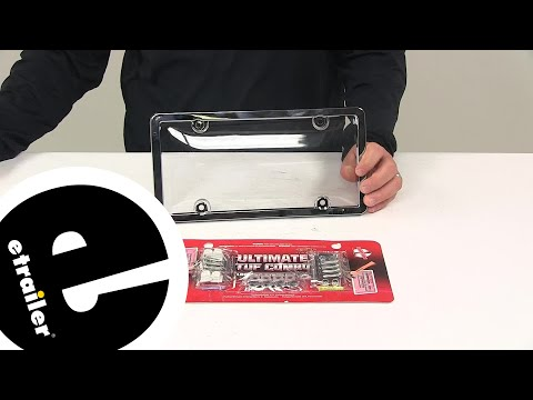 Etrailer | Cruiser License Plates And Frames - Miscellaneous - CR62310 Review