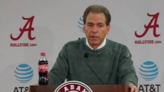 Nick Saban turns focus to Iron Bowl - full press conference
