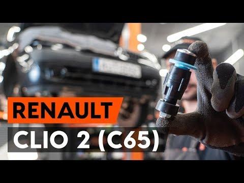Как заменить переднюю тягу стабилизатора RENAULT CLIO 2 (C65) [ВИДЕОУРОК AUTODOC]