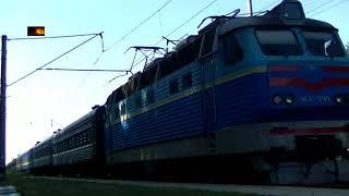 ЧС4-099 с пассажирским поездом(, 2017-08-20T10:30:00.000Z)