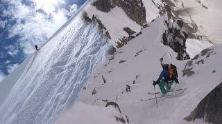 10832_ Face nord du Pain de Sucre ski Chamonix Mont-Blanc
