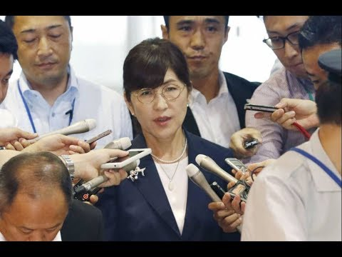 Inada to step down as defense minister Japan