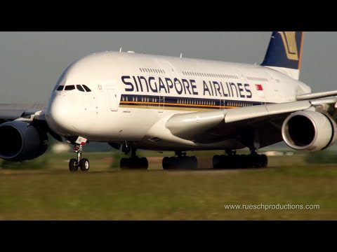 Pure Plane Engine Sounds at Zurich Airport