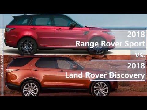 2018 Range Rover Sport vs 2018 Land Rover Discovery (technical comparison)