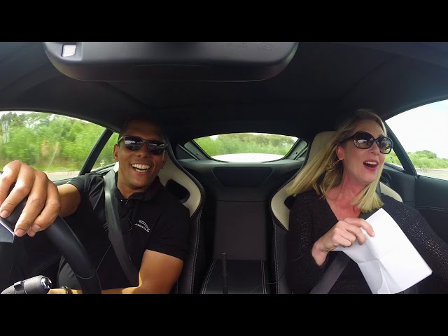 Jaguar puts Bobby and Lindy to the test in Who's the Better Driver?