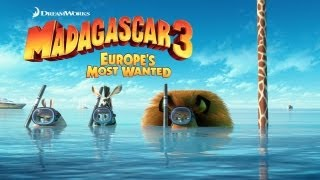Madagascar 3: Europe's Most Wanted- Official Trailer+Full Movie (2012) [HD]