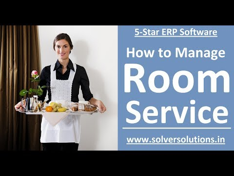 5-Star ERP: Understanding Room Service KOT and its effect in checkout bill