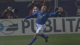 Highlights Italia-Romania 1-0 (16 novembre 2003)