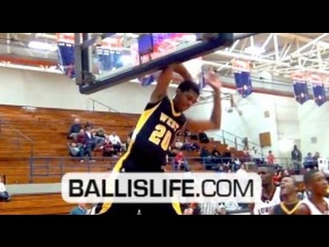 Is 6'9 Marlon Johnson (Joliet West) the next Anthony Davis? Ballislife Pontiac Tournament Mix