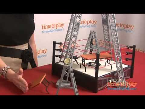WWE Tables, Ladders, and Chairs Playset from Mattel