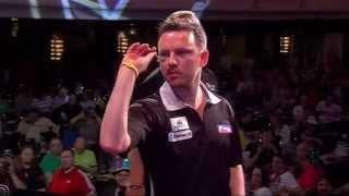 German Darts Masters 2014 Fiŗst Round Alex Roy v Paul Nicholson