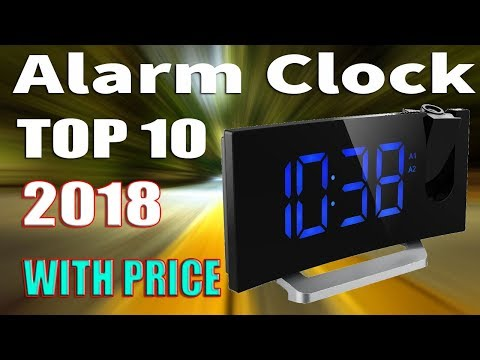 Top 10 Best Alarm Clocks 2018