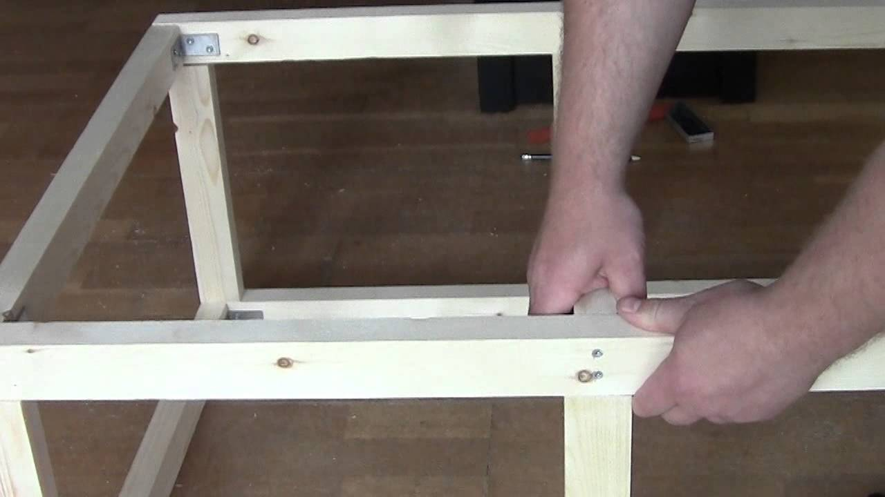Building an aquarium table YouTube