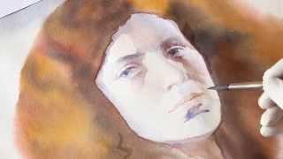 Курсы рисования - курс рисунка как рисовать портрет акварелью(Курсы рисования, курсы рисования акварелью. В данном ролике Вы сможете увидеть весь процесс рисования порт..., 2015-04-27T17:21:51.000Z)