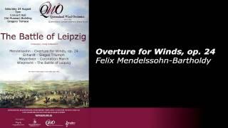 Overture for Winds, op. 24 - Mendelssohn-Bartholdy