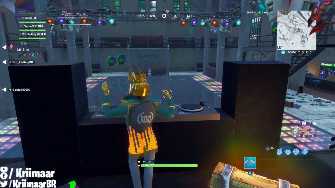 Dance Behind The Dj Booth At A Dance Club With The Y0nd3r Outfit Fortnite Boogiedown Challenges Youtube You can help liquipedia by expanding it. youtube