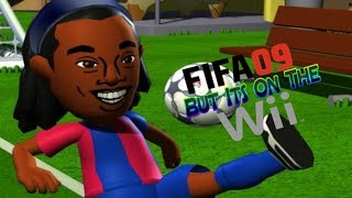 Fifa 09 But Its On The Wii