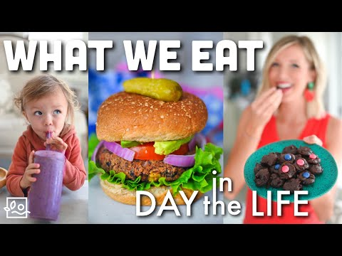 What We Eat In A Day As A Vegan Family: Our Day Off Adventure!