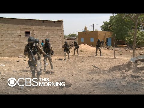 U.S. Training West African Soldiers As Terror Threat Builds