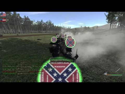 Mount & Blade North and South: Little Round Top AI Battle