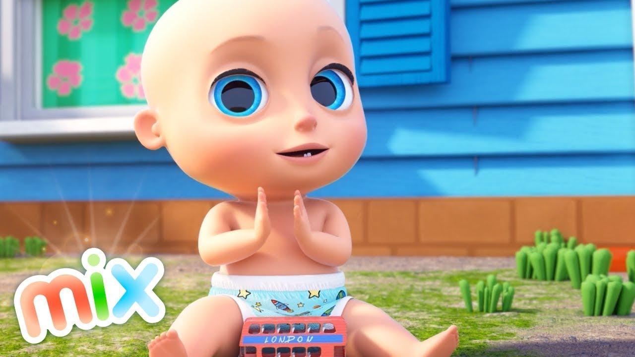 40 Minutos de Las Mejores Canciones para Bebés | El Reino Infantil