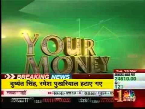 Naval Goel, CEO, PolicyX.com; CNBC Awaaz, Your Money- 15 March 16