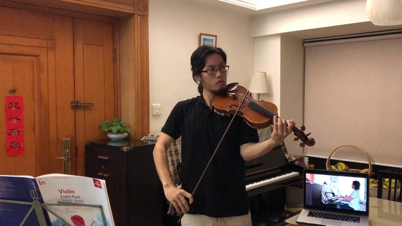 ABRSM 2020-2023 Violin Initial Grade - B1 Performance [Waterfall]