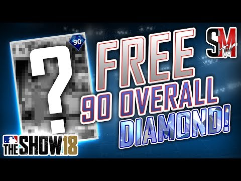 How To Get a Free 90 Overall Diamond! - MLB The Show 18