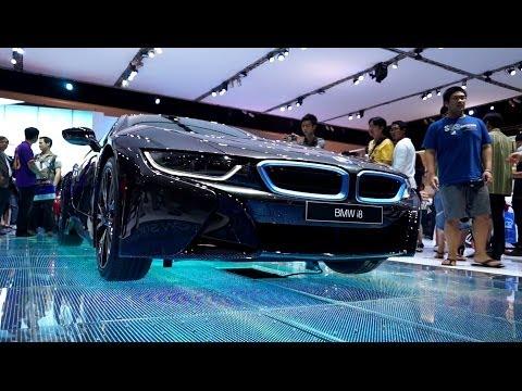 BMW i8 Bangkok Motor Show 2014 - NEW i8