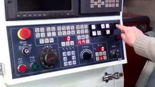 TORNIO CNC  Biglia B301  - ACCENSIONE   RIPRISTINO FINE CORSA   PREPARAZIONE MACCHINA