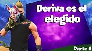 """La historia de Deriva - """"DERIVA ES EL ELEGIDO POR EL CUBO"""" - (Parte 1) - Fortnite"""