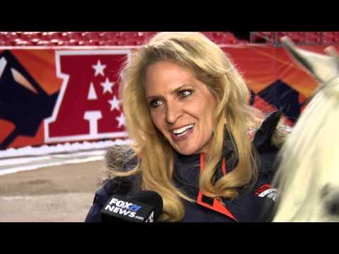 Yep...Broncos mascot