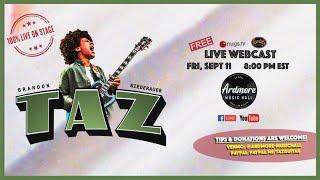 "Brandon ""Taz"" Niederauer LIVE from Ardmore Music Hall 9/10/20"