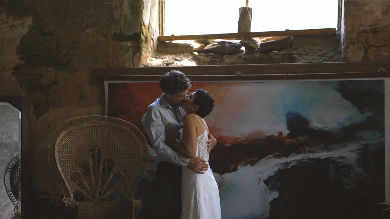 Slow Countryside Elopement - Shooting d'inspiration mariage 2020