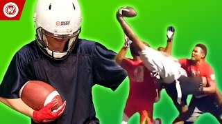 You WON'T BELIEVE This One Handed Catch