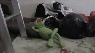 [コマ送り動画] Robot vs Frog thumbnail