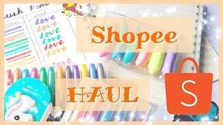 Shopee Haul (stationery)+Pen swatches|Murang brushpens?!