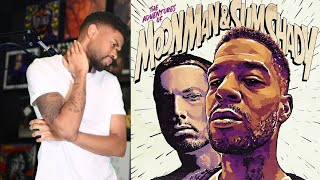 Kid Cudi & Eminem - ADVENTURES OF MOON MAN & SLIM SHADY REACTION/REVIEW