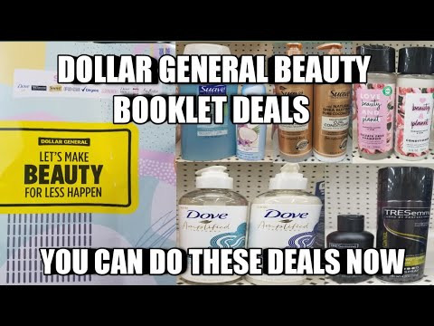 DOLLAR GENERAL BEAUTY BOOKLET DEALS| YOU CAN DO THESE DEALS NOW