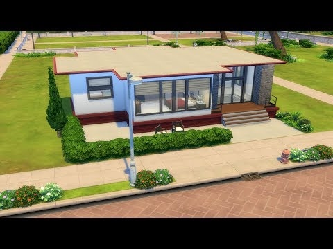 The Sims 4 - Small Family Home | Speed Build | House Building thumbnail